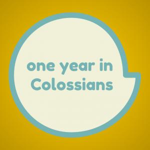 bible study colossians theology