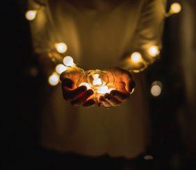 missionary holding light